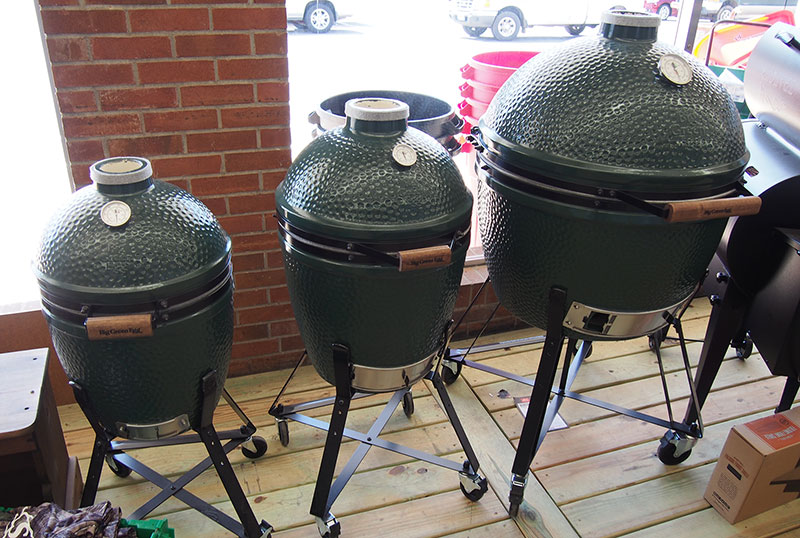big green egg franklin nc